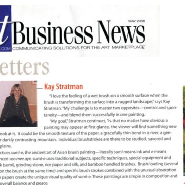 """""""Trendsetters"""" – Art Business News, 2006"""