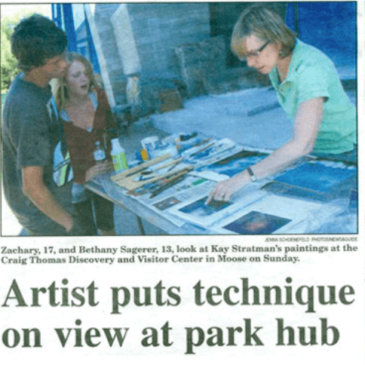 Grand Teton National Park Artist in Residence Aug 2010