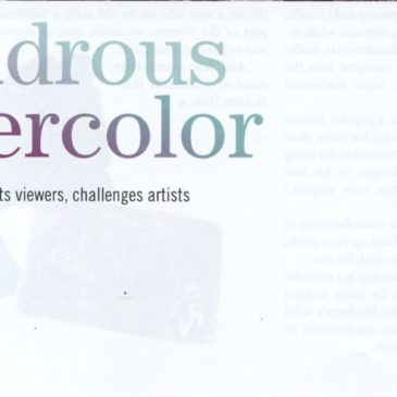 "Images West Magazine ""Wondrous Watercolor"" Summer 2012"