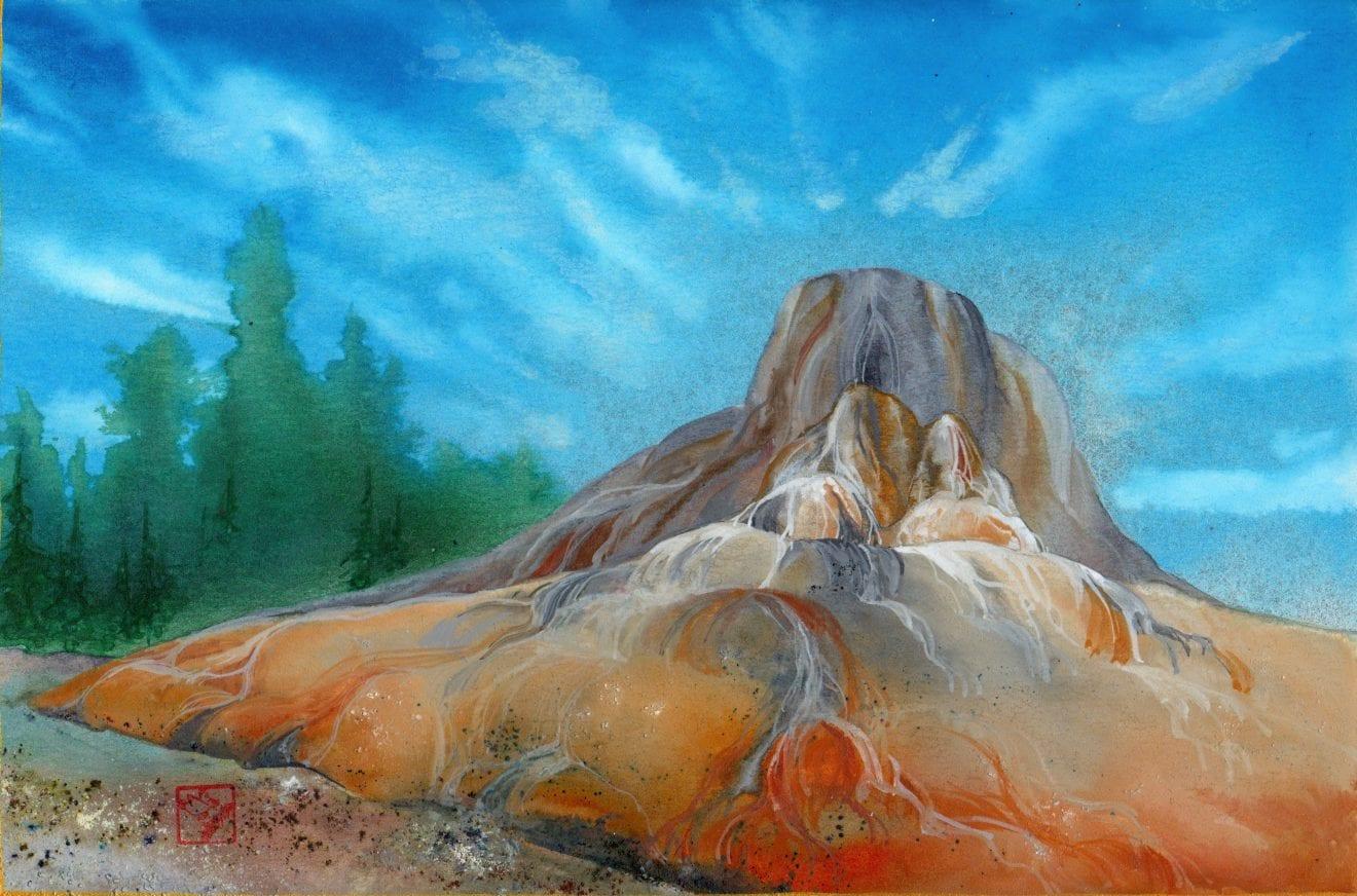 Orange Spring Mound study 2